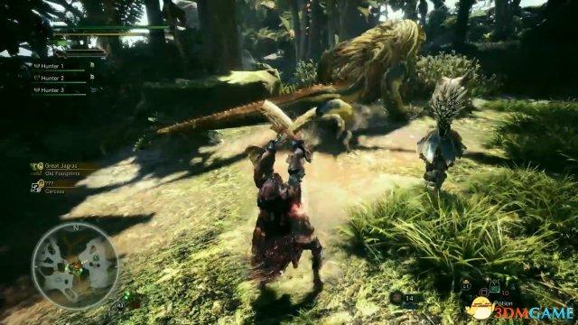 《怪物猎人:世界》 新演示视频 联机狩猎让人兴奋