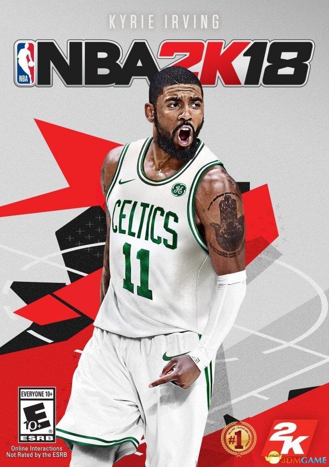 《NBA 2K18》公布新封面 欧文身穿绿军11号战袍
