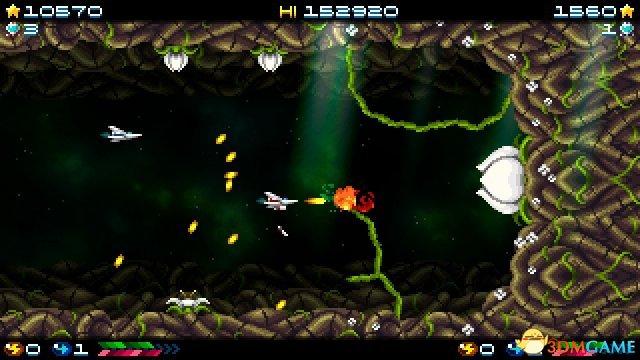 太空背景横版射击游戏《超级海多拉》上线Steam