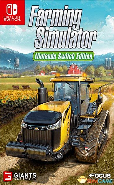 250种以上农机 Switch版《模拟农场》17年内发卖