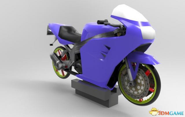 侠盗猎车:圣安地列斯 新版FCR900摩托车MOD