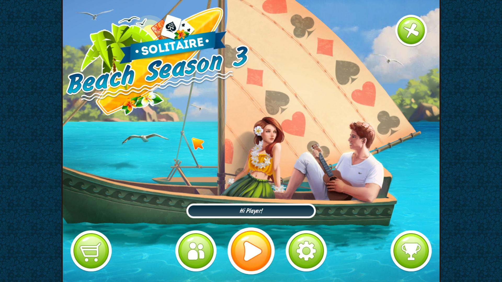 接龙海滩季节3 游戏截图