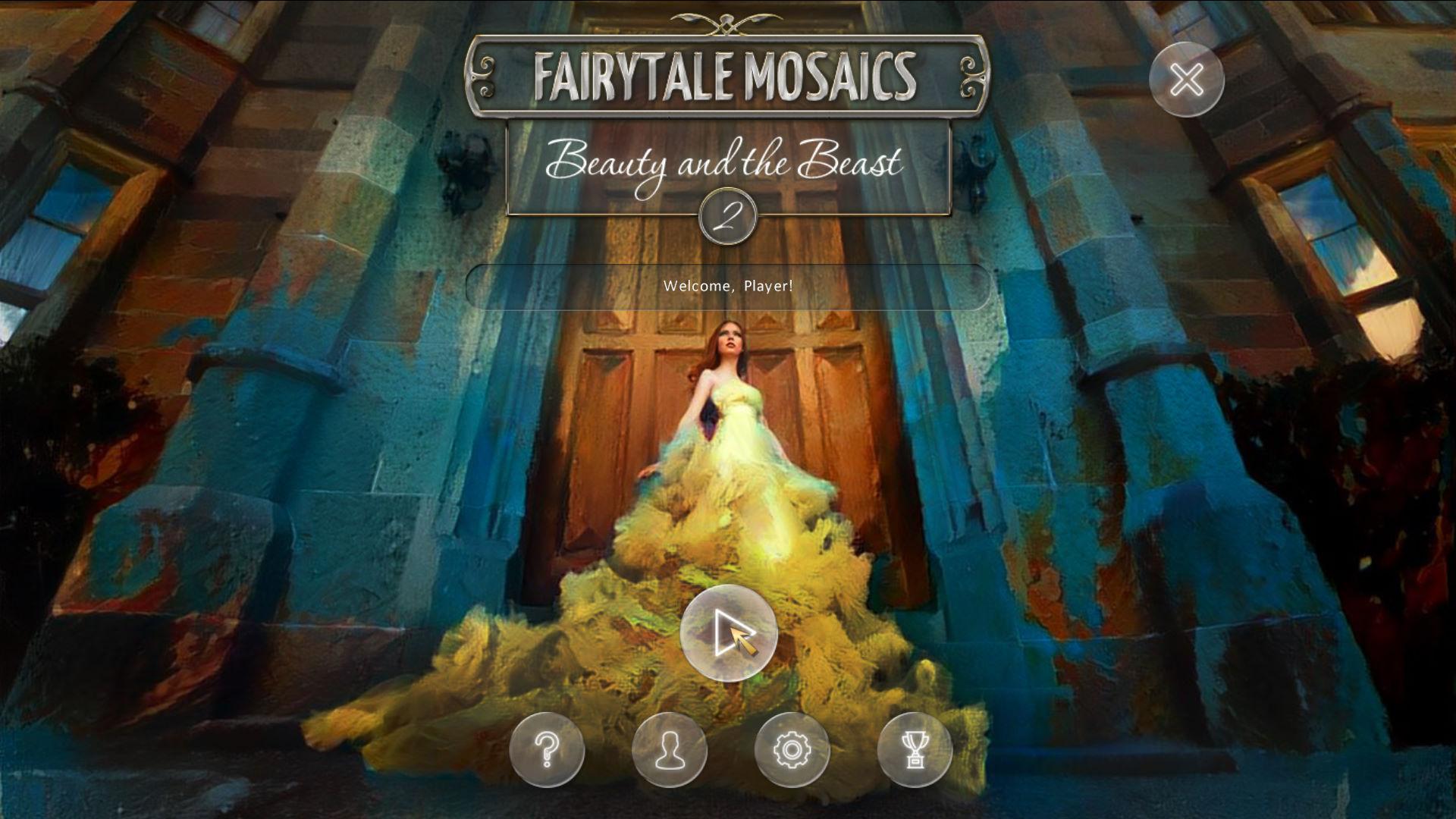 童话拼图:美丽与野兽2 游戏截图