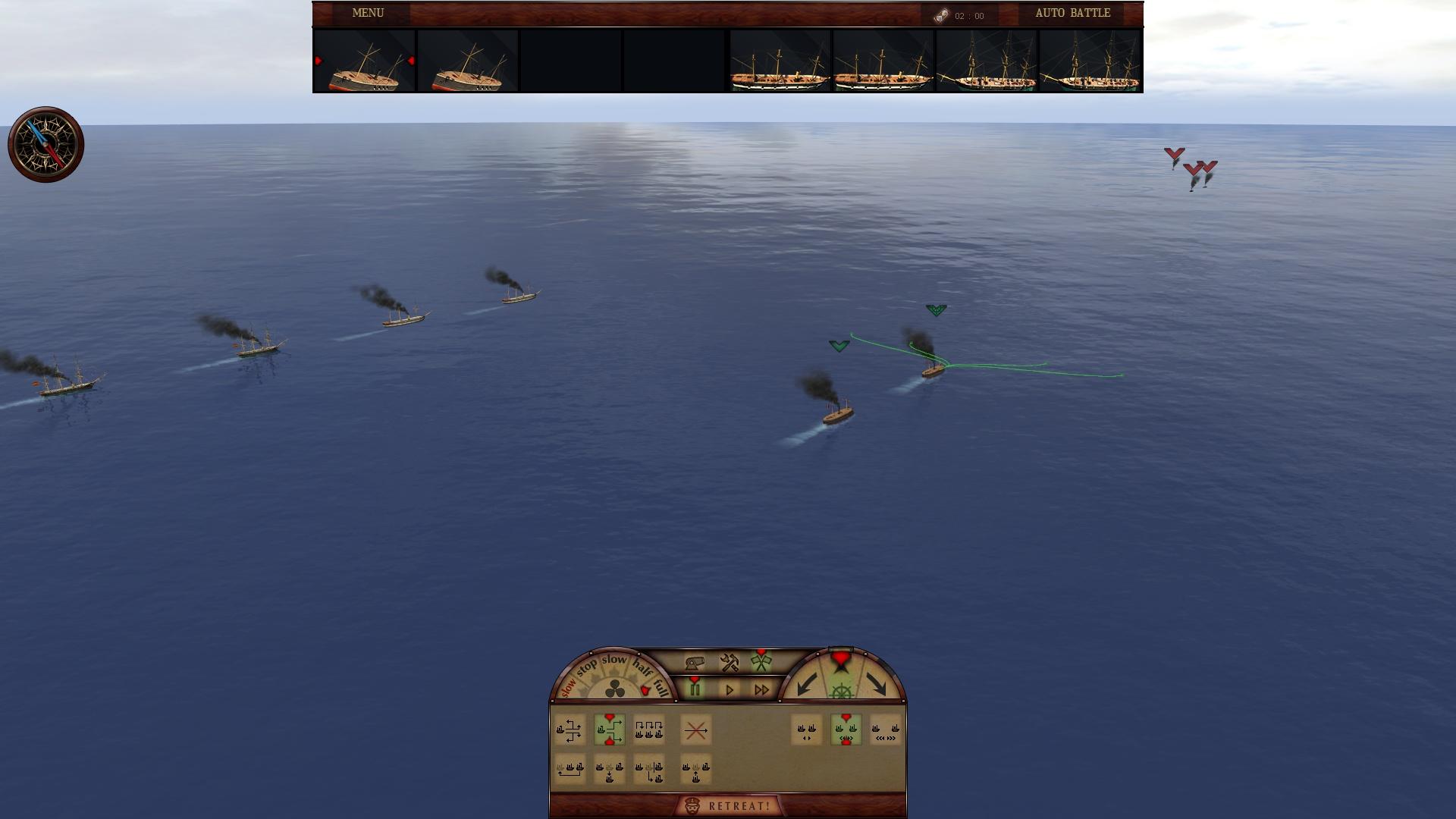 钢铁覆盖:墨西哥湾1864年 游戏截图