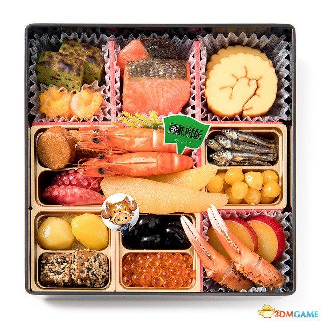 画面太美怎舍得吃《海贼王》主题正月年菜料理公开