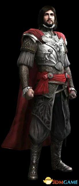 刺客信条系列十大最深入人心的圣殿骑士 十大经典骑士盘点