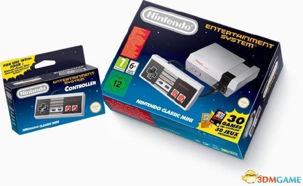 還是可以靠情懷吃飯 任天堂將重啟NES Mini產線