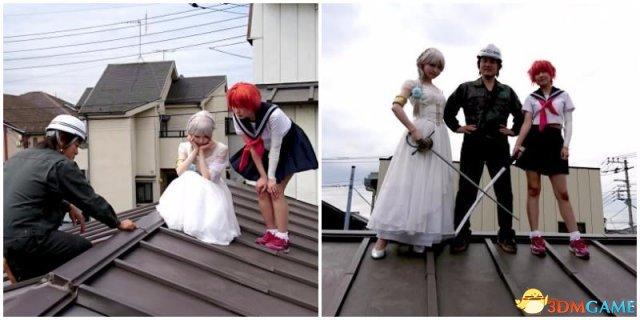 日本超专业Cosplay服务 租赁屋顶供Coser随意摆拍