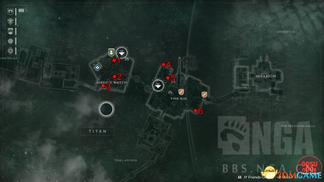 命运2土卫六全宝箱收集图文攻略 土卫六全宝箱位置