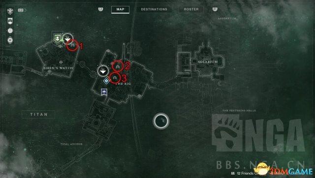 命运2土卫六全沦陷区位置图文攻略
