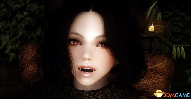 上古卷轴5 吸血鬼随从妹子米娜哈克美化MOD