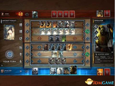 《巫师之昆特牌》如何使用卡差创造的胜利契机?
