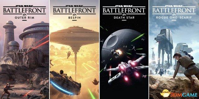 《星球大战:前线》季票现已免费 包含4个DLC