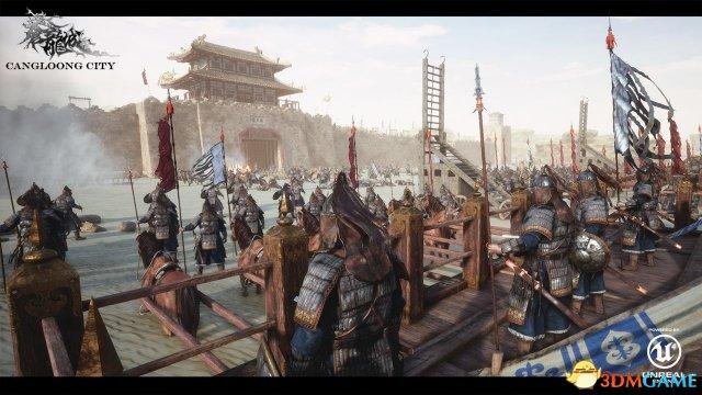 国产ARPG《苍龙城》新截图 写实中国风玄幻之作!