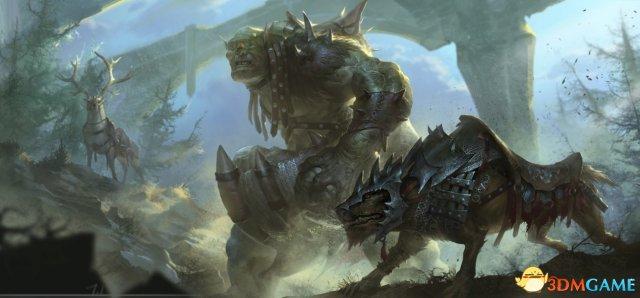 攻城略地好帮手,《黑暗与光明》堕落鬣狗骑乘玩法