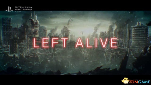 TGS 2017:科幻未來風史艾全新作《LEFT ALIVE》