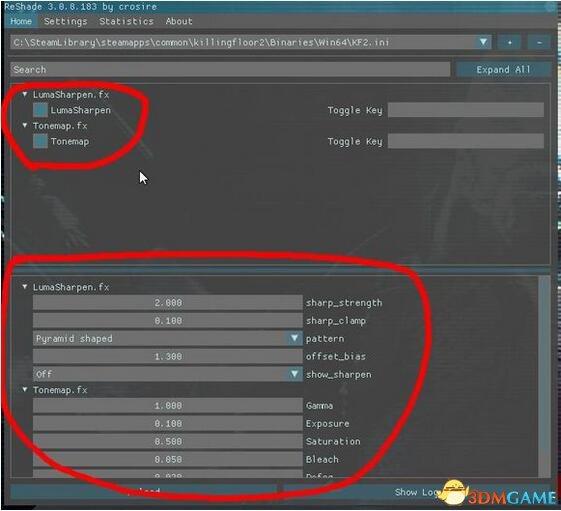 杀戮空间2 Reshade画质补丁v3.0.8
