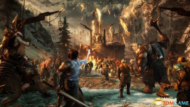 《中土世界:战争之影》新预告 黑暗兽人部落登场