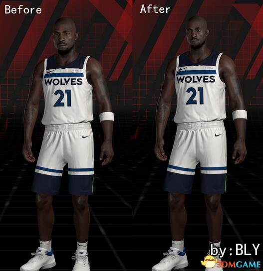 NBA 2K18 科比与加内特头身比例修正补丁