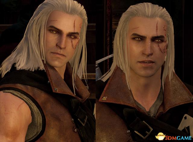 巫师3:狂猎 v1.31年轻帅气的杰洛特MOD