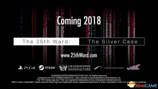 《银色事件:25号病房》将于明年登陆PS4/Steam