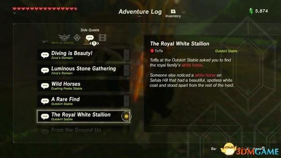 塞尔达传说荒野白马怎么获得 获得白马方法分享