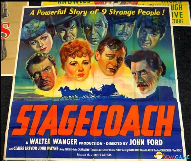 70年前电影海报成了收藏品 单张价值可达近30万元