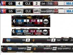 NBA2K18 NBA TV/TNT 3记分牌补丁v1.0