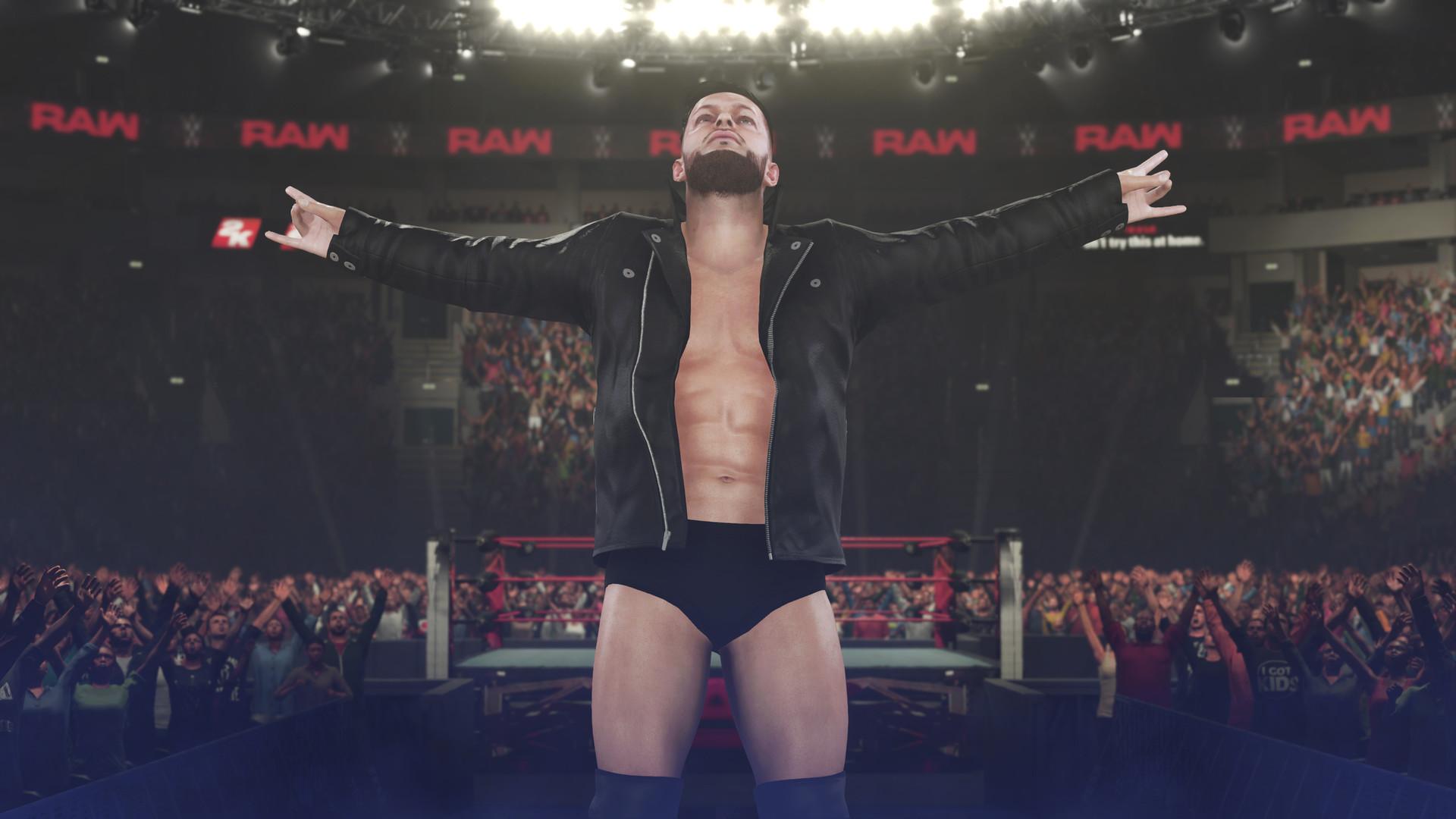 WWE2K18 3号(v1.06)升级档+DLC+未加密补丁[3DM]