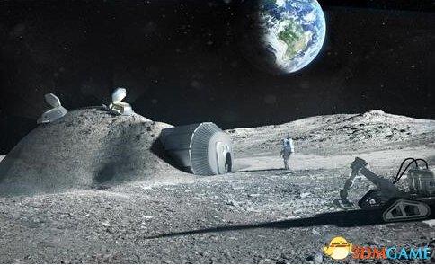 """据外媒报道,美国航空航天局(NASA)近日发布消息,将和俄罗斯合作建造首个月球空间站,名为""""深空通道""""(Deep Space Gateway)。 该空间站将作为基地对太阳系进行深层探索,并在远期实现将人类送上火星的目标。 该工程由美国航空航天局主导,在运行后空间站内将有宇航员长期驻守。"""