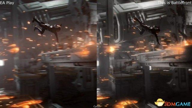 《星際大戰:前線2》預告畫面对比 寒霜引擎威力強