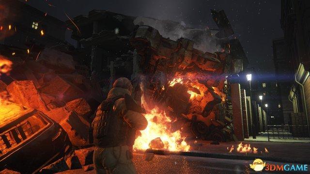 SE《生还者》两张新截图公开 巨型机甲仍是主角