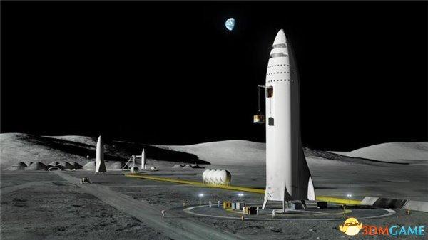 马斯克发布月球基地概念图 或公布外星殖民计划