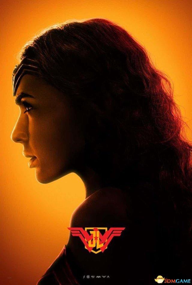 《正义联盟》 五彩角色海报放出 神奇女侠侧面美
