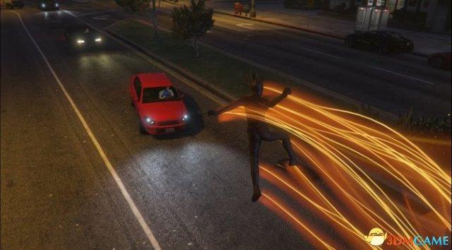 《侠盗猎车5》闪电侠MOD大幅更新 添加更多超能力