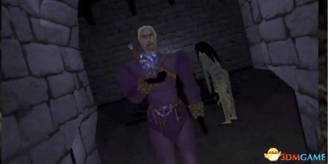 被取消的《巫师》游戏项目视频 这个白狼有点方