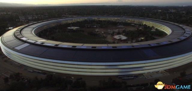 苹果新总部造价曝光:太空船主楼28亿 剧院12亿