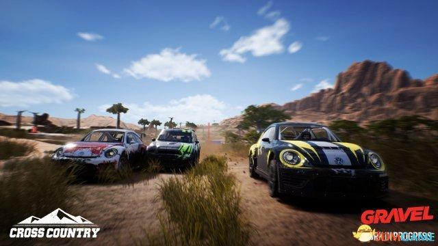 越野競速遊戲《砂礫》大量新圖公開 虛幻4打造