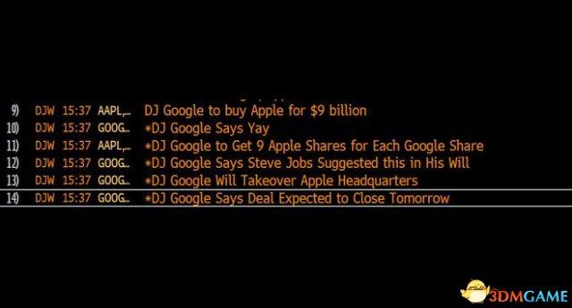 """道琼斯解释""""谷歌收购苹果""""假新闻 测试文本偷跑"""