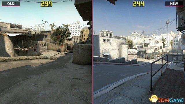 《CS:go》dust2地圖新舊对比視訊 看看有何變化