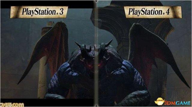 《龍族教義:黑暗崛起》PS3/PS4畫面对比 怪獸篇