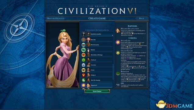文明6 v1.0.0.167乐佩的科洛那王国mod