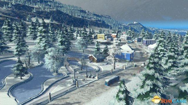 """下雪啦!《城市:天际线》公布新DLC""""Swofall"""""""