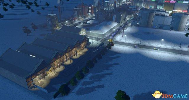 """下雪啦! 《城市:天际线》 公布新DLC""""Swofall"""""""