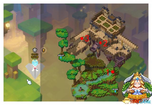 魔法森林(四)_冒险岛2黄金宝箱在哪 冒险岛2黄金宝箱图片