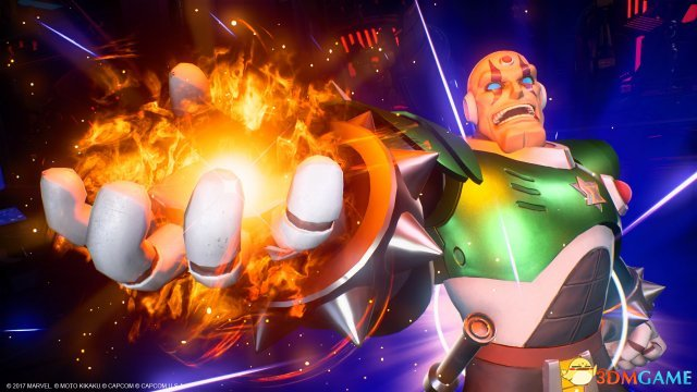 3巨头登场《漫画英雄VS卡普空:无限》新DLC上线