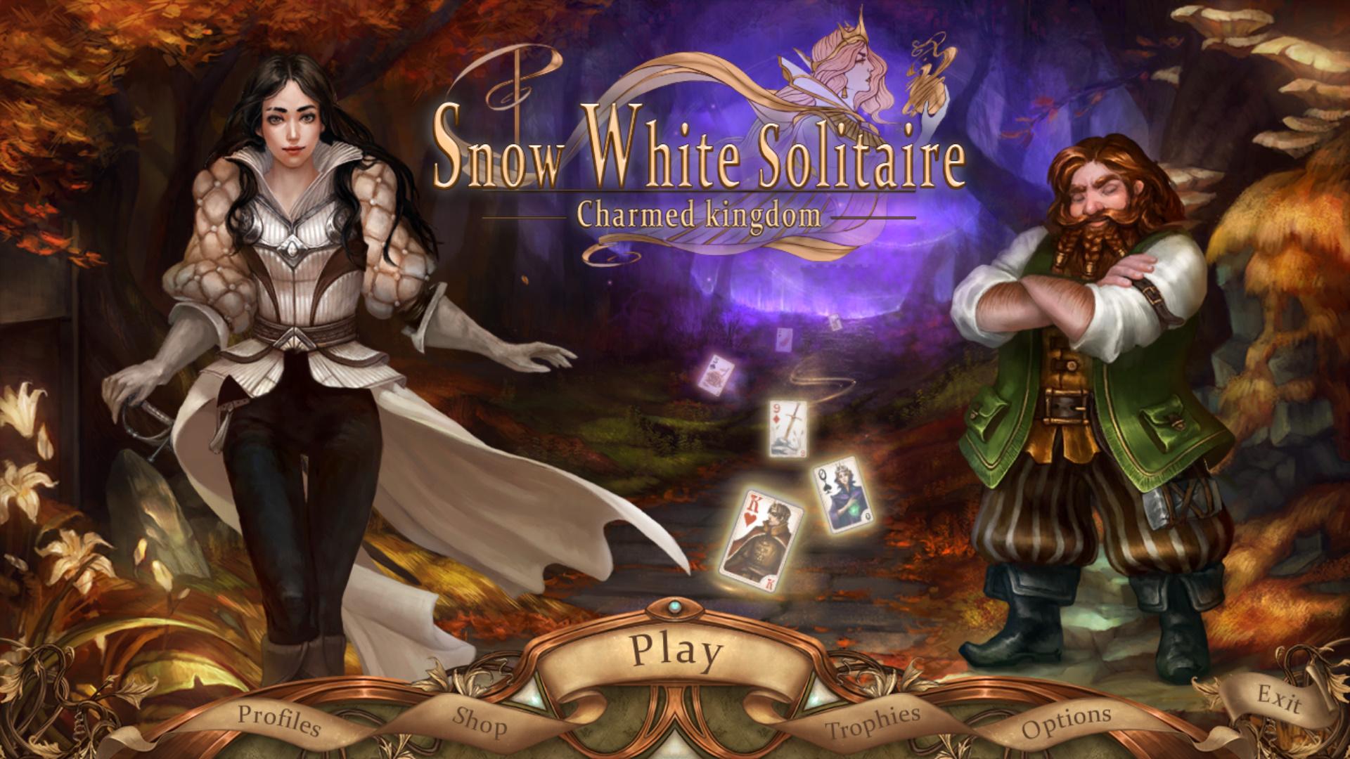 白雪公主纸牌:魅力王国 游戏截图