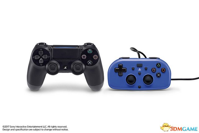 的新手柄是专为小朋友准备的,推出PS4全新袖珍