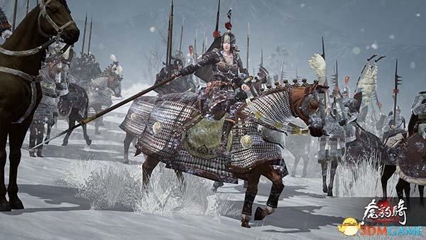 《剑网3》玩家恶搞《虎豹骑》 眉间雪画风惨遭魔改