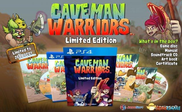 PS4版街机游戏《Caveman Warriors》发售日公布